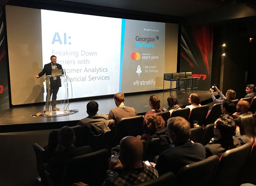 Stratifyd panel discussed how the corporate world should support AI startups
