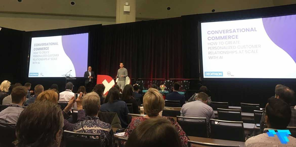 Decathlon and Heyday at Dx3 Conference 2019