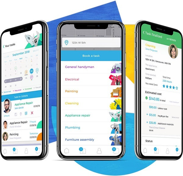 HeyBryan Home Services Marketplace App
