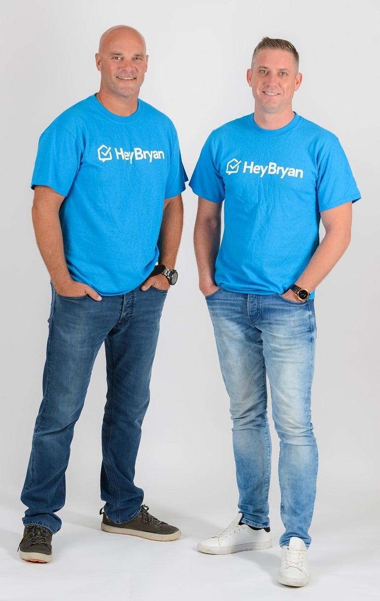 HeyBryan partners Lance Montgomery and Bryan Baeumler