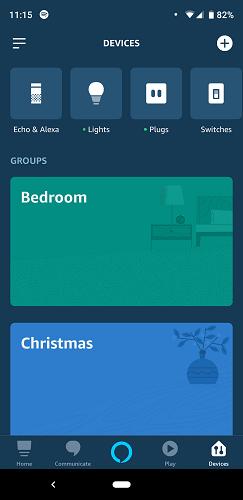 Alexa App Echo Input 4