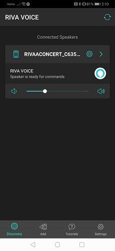 Riva Voice App 1