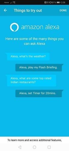 Riva Voice App Alexa