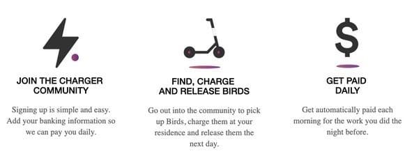Bird Chargers