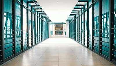 Data Center Hallway
