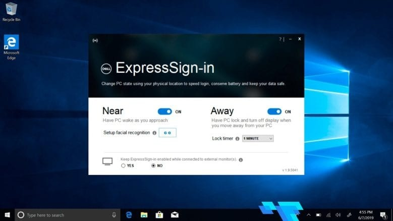 Dell Latitude 7400 2 in 1 ExpressSign In