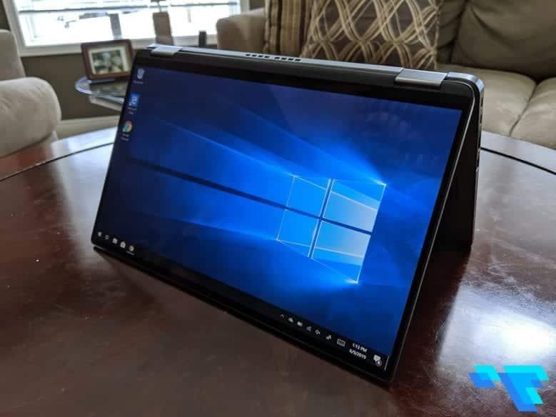 Dell Latitude 7400 2 in 1 Tent Like