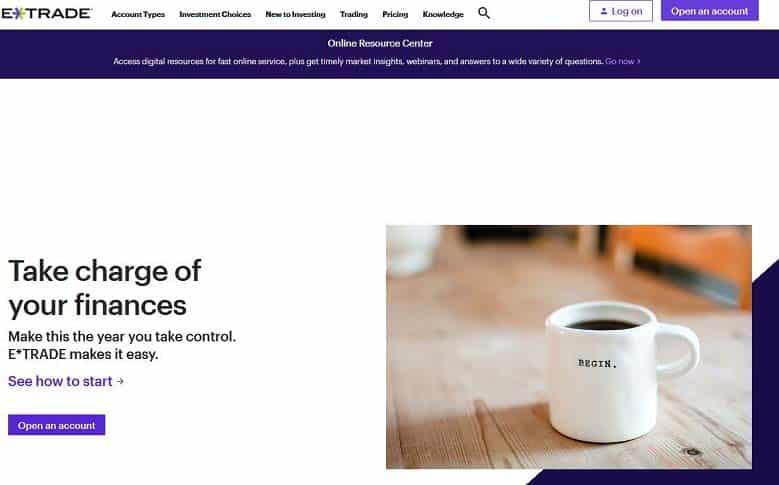 ETRADE Website