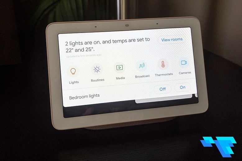 Google Nest Hub Smart Home Controls