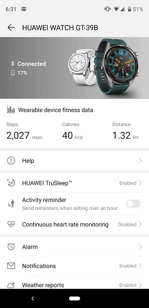 Huawei Watch GT App TruSleep
