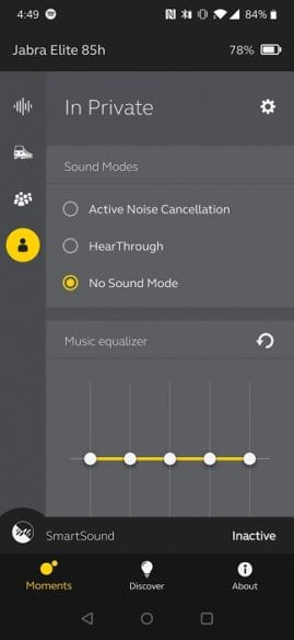 Jabra App - Sound Modes