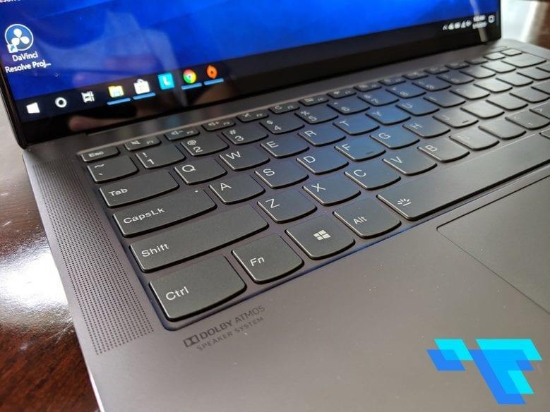 Lenovo IdeaPad S940 Keyboard