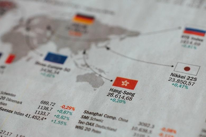 Stock Indexes Newspaper
