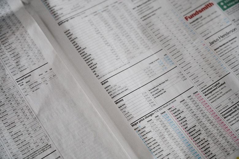 Stocks Finance Section
