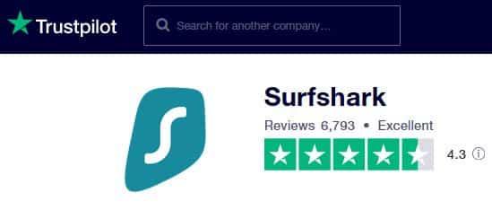 Surfshark Reviews
