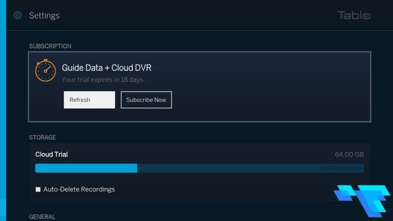 Tablo Dual Lite Cloud DVR