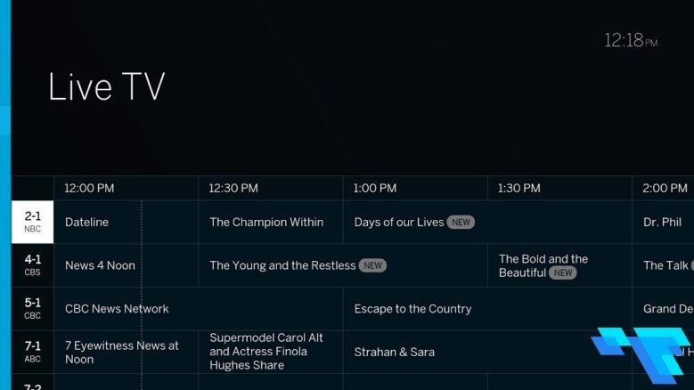 Tablo Dual Lite TV Guide