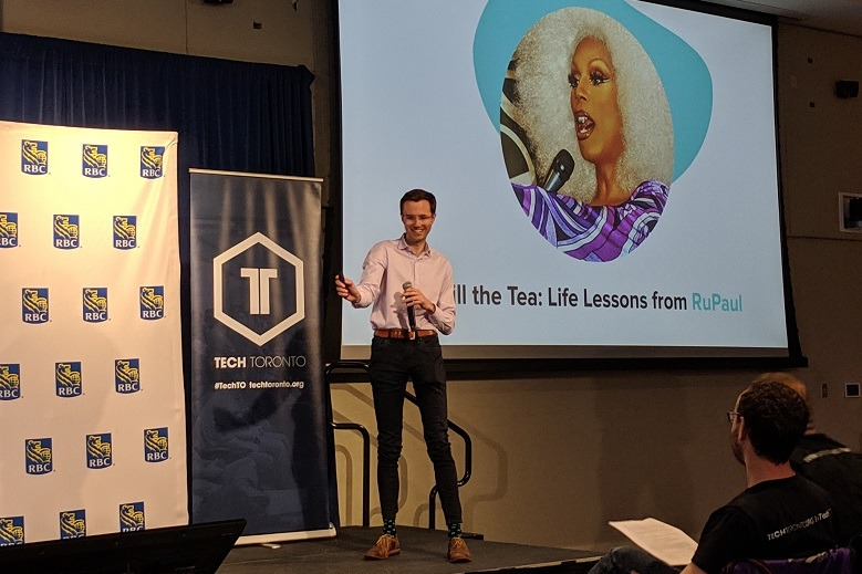 TechTO Pride event talked about authenticity in startups, role models, and RuPaul