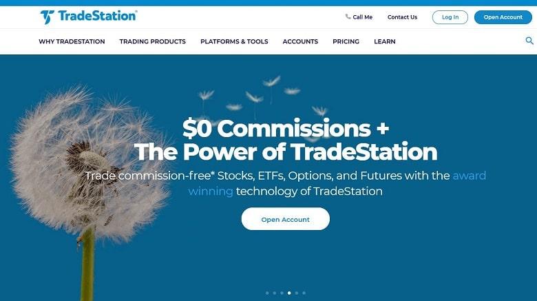 Tradestation Zero Commission -Banner