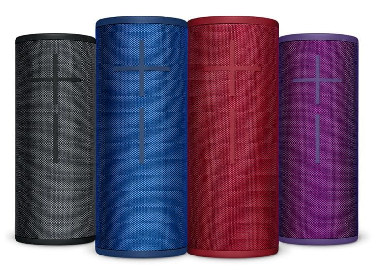 UE Boom 3 available in 4 colours