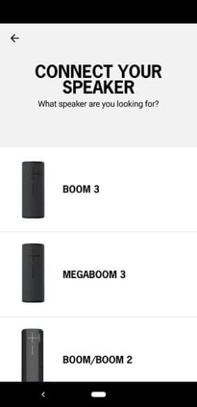 UE Boom 3 App Set Up