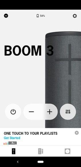 UE Boom 3 App Controls