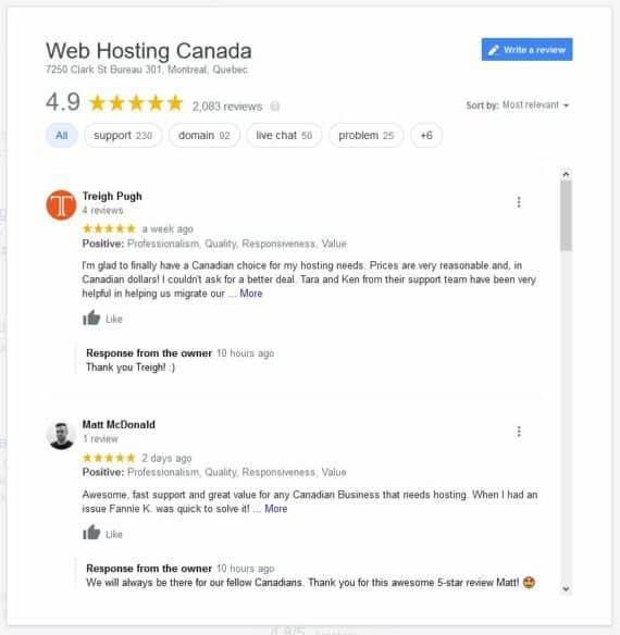 WHC Reviews