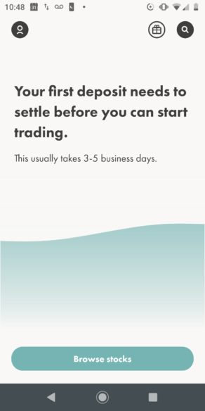 Wealthsimple Trade First Deposit