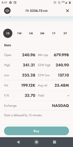Wealthsimple Trade Stock Details