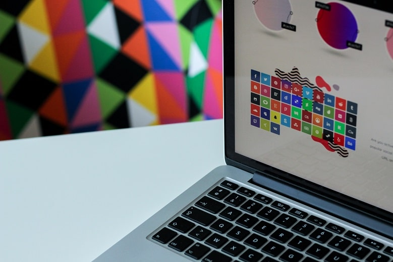 Website Template on Mac