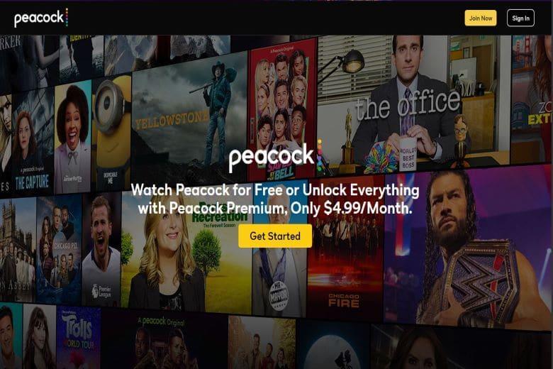 Peacock TV Streaming Platform